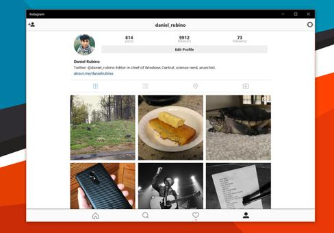 instagram sur pc