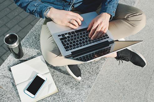 ordinateur étudiant