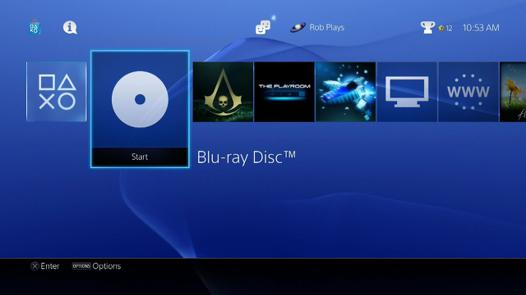 ps4 blu ray