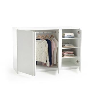 armoire penderie basse