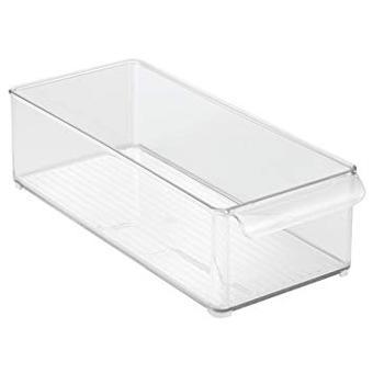 bac plastique transparent