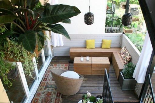 banc balcon