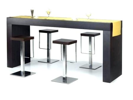 bar table haute