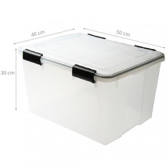boite de rangement en plastique