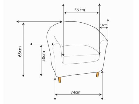 dimension fauteuil