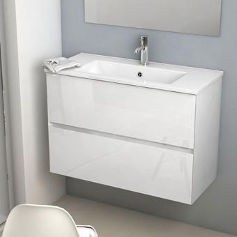 meuble vasque faible profondeur