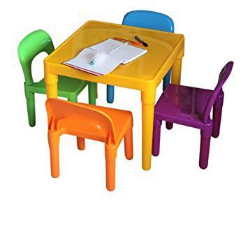 table et chaise pour tout petit