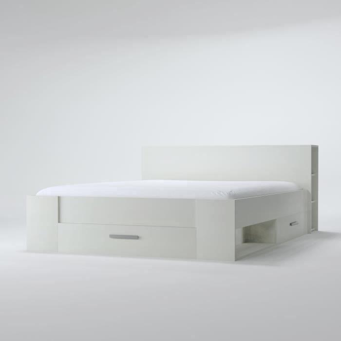 lit adulte avec rangement