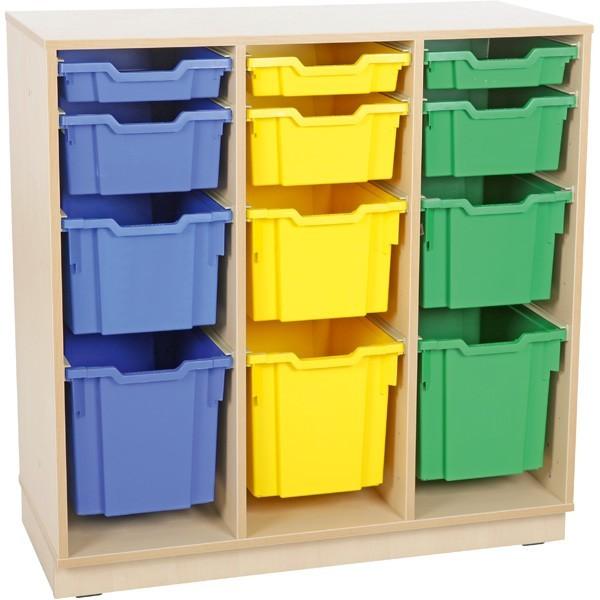 meuble rangement bac plastique